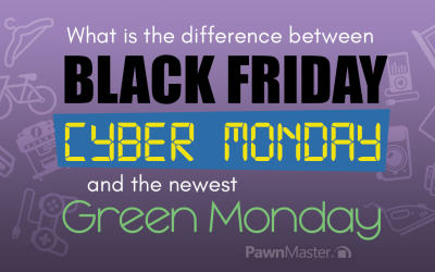 What is the difference between Black Friday, Cyber Monday & the newest Green Monday?