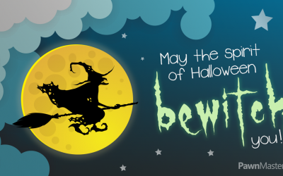"""May the Spirit of Halloween """"Bewitch"""" You"""
